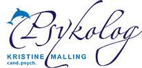 psykolog kristine malling logo